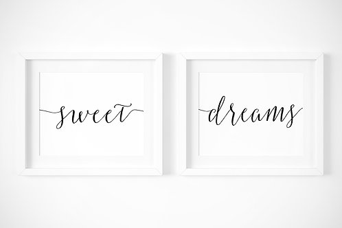 Sweet Dreams / Set of 2