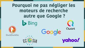 Moteurs de recherche : Pourquoi ne pas négliger les moteurs de recherche autre que Google ?