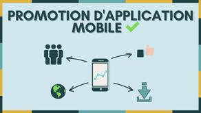 Stratégie digitale - Promouvoir son application mobile