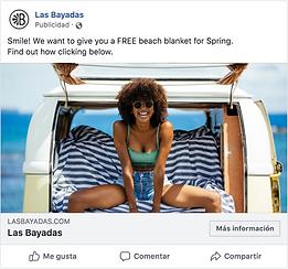 Facebook ads Las Bayadas - Agence tranformation digitale - Agence référencement ASO SEO App Store Play Store App Galery - Google conception création et refonte site web et mobile - App ASO agence de conseil et de stratégie pour application mobile.png