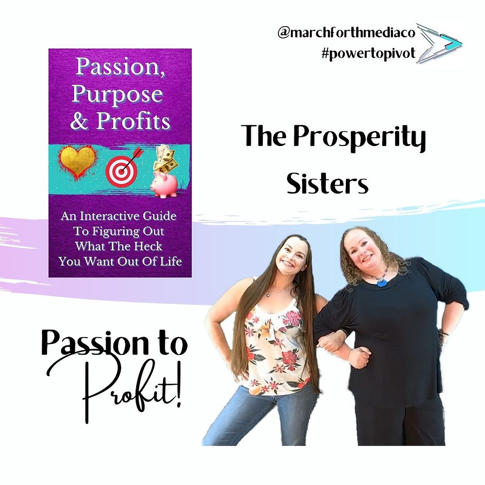 Their new book Passion, Purpose, and Profits helps readers clarify their goals, and plan a strategy to freedom.