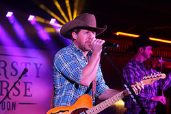 kyle park at thirsty horse saloon