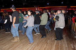 Line Dancing at Thirsty Horse Saloon