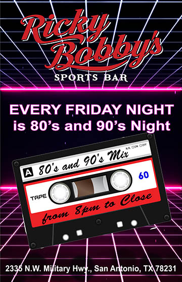 RB 80s and 90s night rb