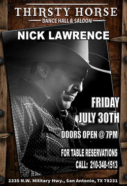 Nick Lawrence-JULY30TH