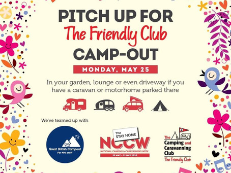 The a Great British Camp out Returns