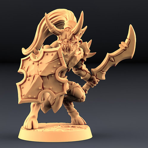 Abyss Demon Gruntiling B - Modular