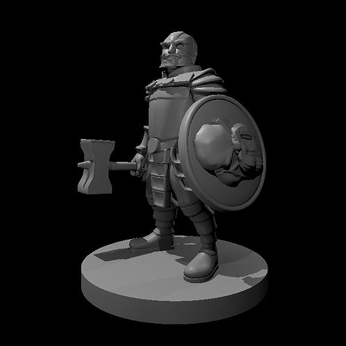 Animated Dwarven Armor