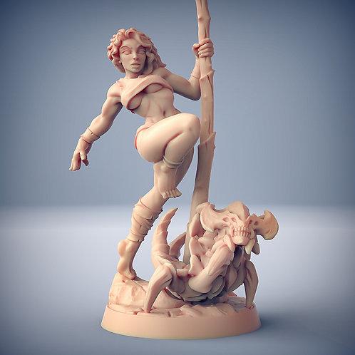 Lara the Dancer (Fantasy Pinup)
