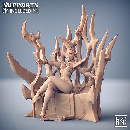 Valykka - Bride of Tialevor (Fantasy Pinup)