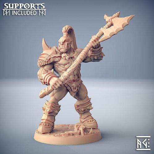 Orc Barbarian B - Modular