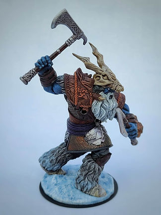 Giant Ice Viking Miniature