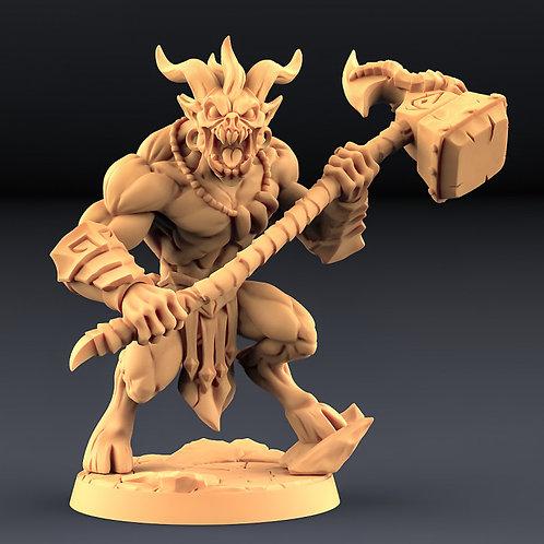 Abyss Demon Guardian B - Modular
