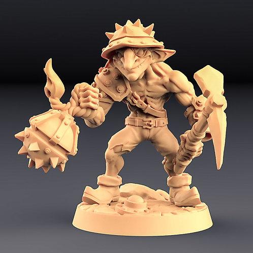 Sparksoot Goblin D - Modular