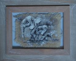 Canvas 1 Elephant