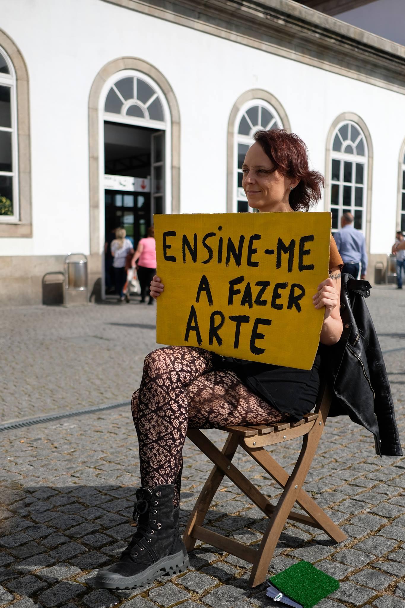 ENSINE-ME A FAZER ARTE
