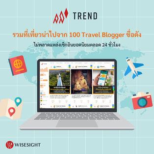 Wisesight Trend Travel