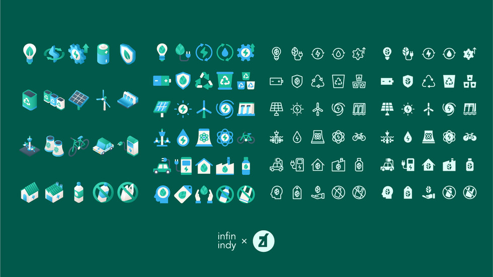 Go Green Icon Set
