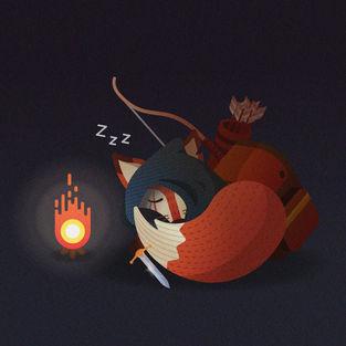 Character Design Challenge - Fox Adventurer