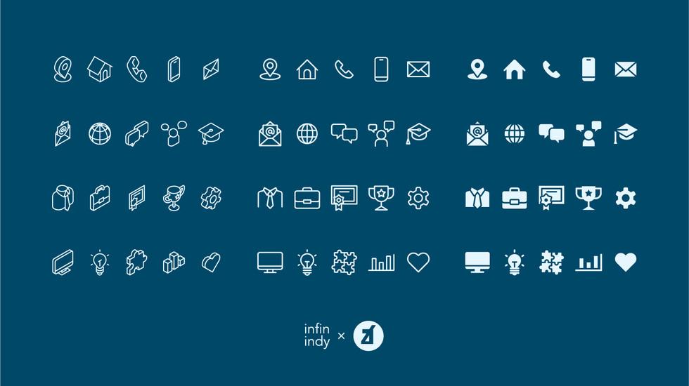 Resume's Icon Set