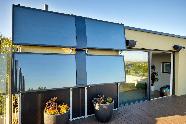 Penthouse South Deck Solar Panels