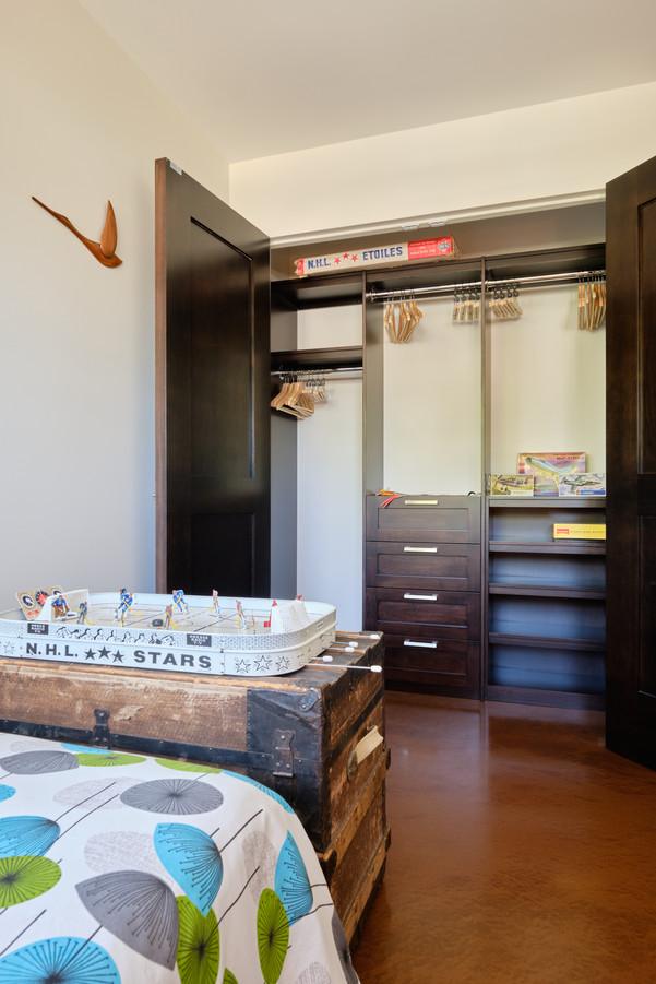 2nd Floor East Bedroom Built-in Closet