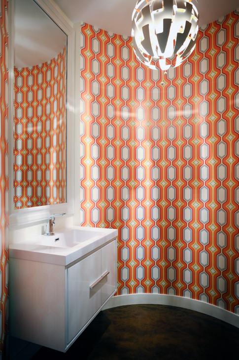 1st Floor Cylindrical Half-Bath