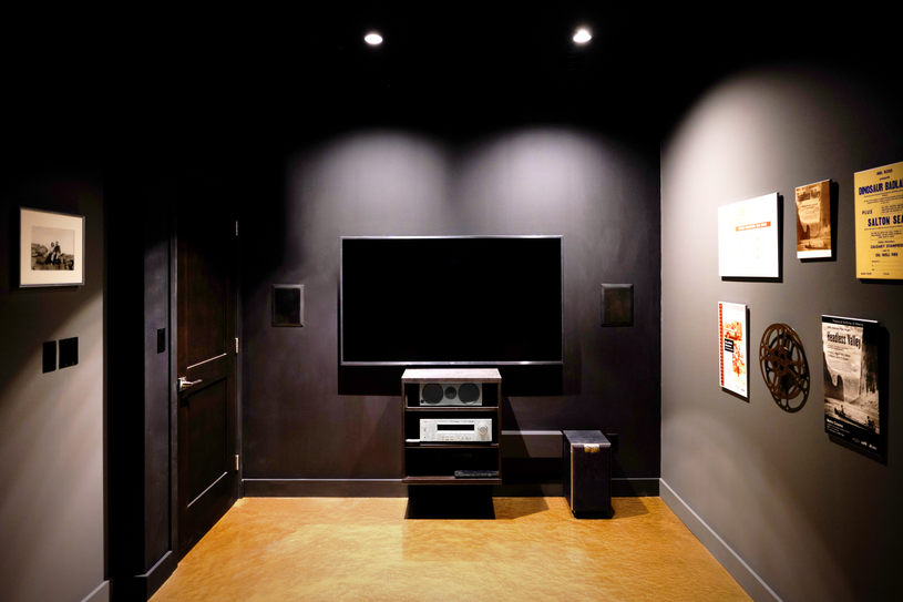Walk-out Basement Home Theatre