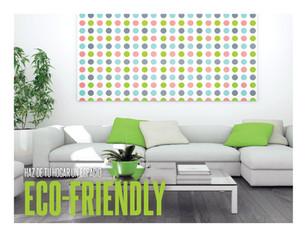 Haz de tu hogar un espacio eco-friendly
