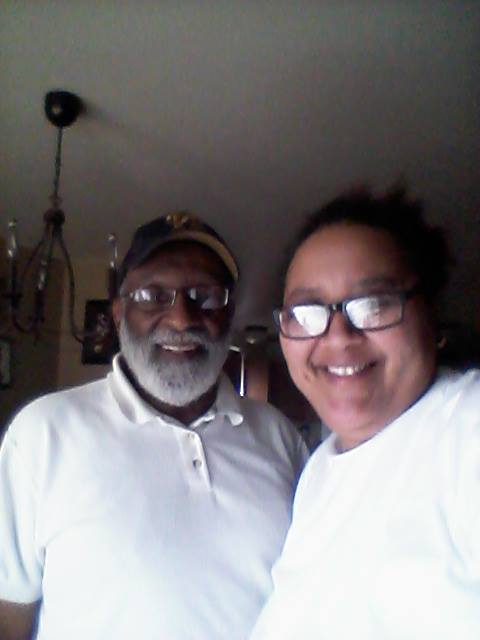 Mr Ron Gregory..... Brother of Dick Gregory... Came to do a contract and we ended up chattin for abo