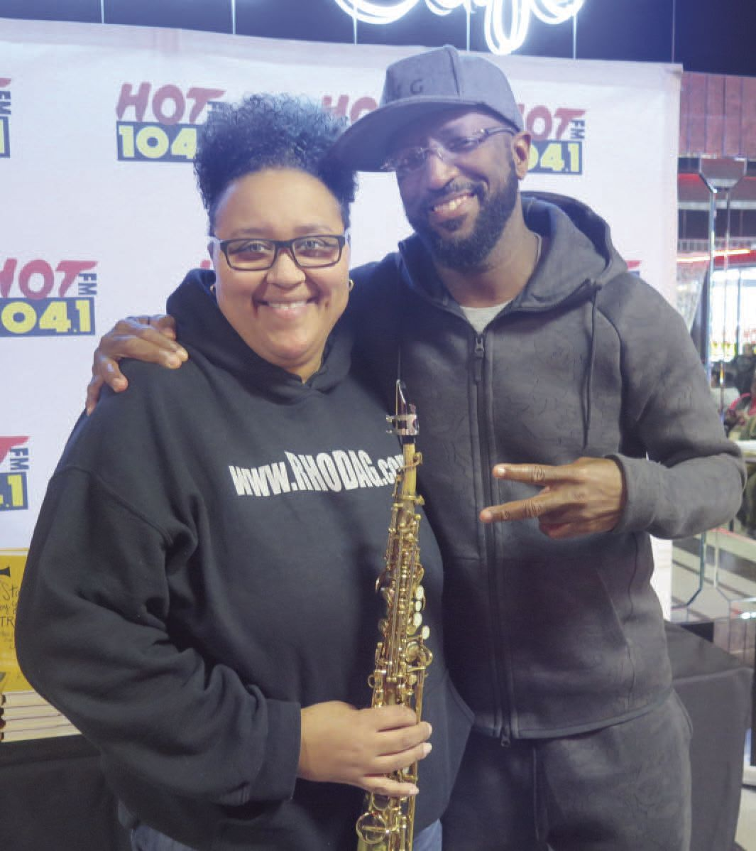 Rhoda G. & Rickey Smiley