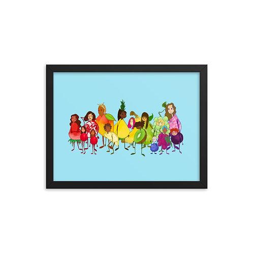 Fruit Salad Family Portrait