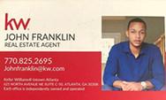 John Franklin, Real Estate Agent