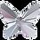 Thumbnail: Swarovski® Shaped Crystal - Butterfly
