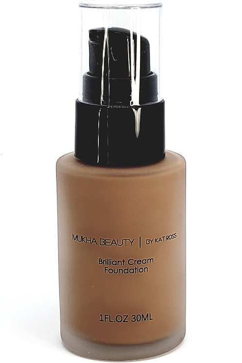 Brilliant Cream Foundation Medium Brown