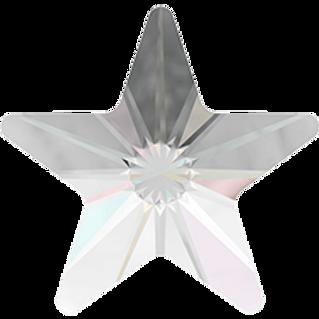 Swarovski® Shaped Crystal - Rivoli Star