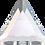 Thumbnail: Swarovski® Shaped Crystal - Triangle