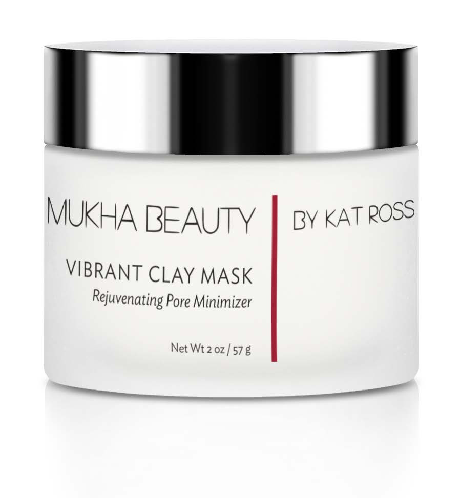 Vibrant Clay Mask by Mukha Beauty