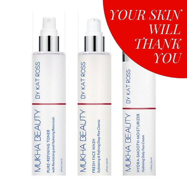 All you need for a fresh face! Your skin will thank you.