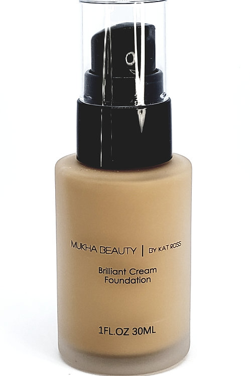 Brilliant Cream Foundation Light Brown