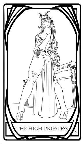 Color Me! - The High Priestess