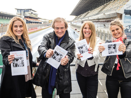 Visites des auteurs du livre : Les 24 histoires des 24 Heures du Mans