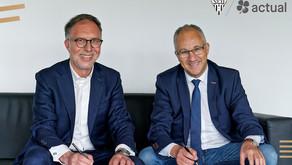 CP - Actual group devient Partenaire Majeur d'Angers SCO