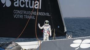 Image du jour - Thomas Pesquet  reçoit un clin d'oeil sympa de la fusée Actual Ultim 3 qui décolle.