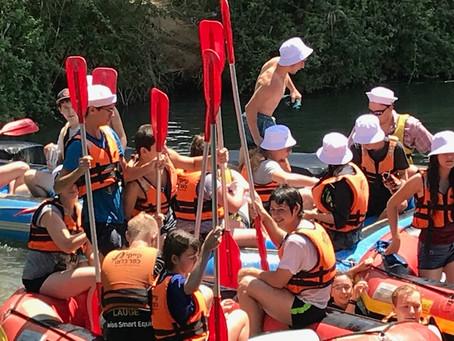 Rafting im Jordan und viel Musik