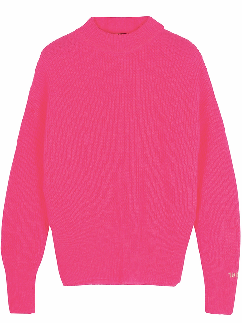 10 DAYS soft knit sweater candypink