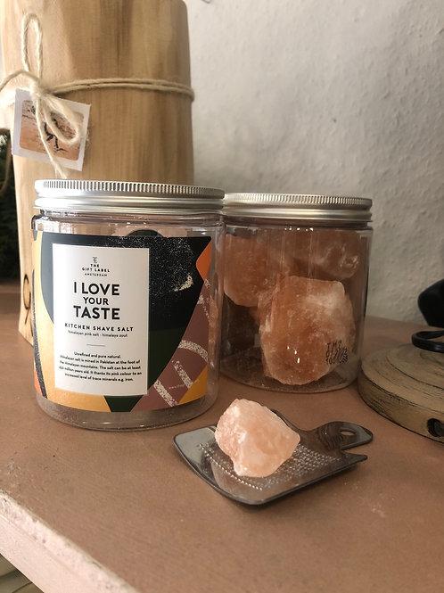 The Gift Label | Kitchen shave Salt