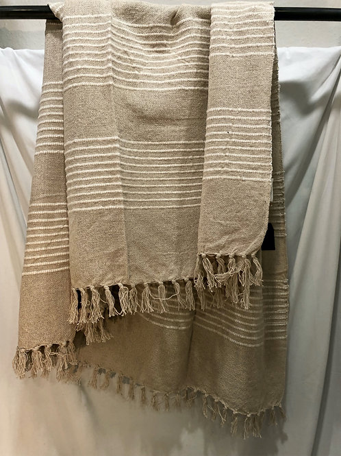 Home Society Plaid beige/creme
