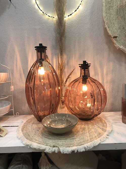 Lampe Light&LivingVase Ø27x59 cm inkl. Fassung Lampenfassung POSSANDO 18x9,5