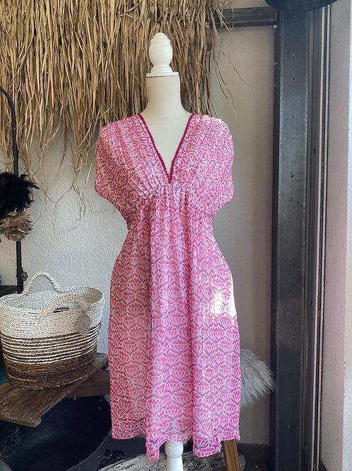 Place du Soleil | Kleid V-Ausschnitt